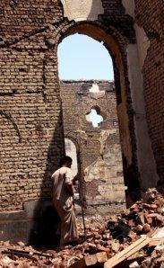 muslims attck churches